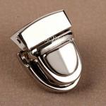 Застёжка для сумки, кошелька серебро, размер 20х30 мм.,цена за 1 шт., IN000932