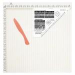 """Доска для биговки многофункциональная """"Рукоделие"""" DDB-03 (30.5x30.5см) IN000944"""