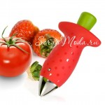 Удалитель сердцевины и хвостика из клубники и томатов., KO000009