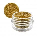 Сухой глиттер Золотой, размер баночки диаметр 25 мм, высота 40 мм.