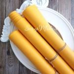 Кожзам Кукурузный, матовый, отрез размером 35х50 см(+/- 1см), KZ000058