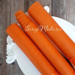 Переплётный кожзам Апельсин, матовый, отрез размером 25х70 см(+/- 1см), тонкий, KZ000246