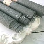 Переплётный кожзам, матовый, текстура:питон, Светло-серый, отрез размером 33х70 см., KZ000275