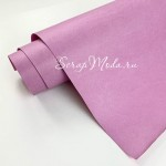 Переплётный кожзам MATTE, цвет:Лилово-Розовый, отрез размером 22х70 см(+/- 1см), тонкий, KZ000456
