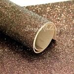 Фоамиран с глиттером, Бронза, толщина 1,8 мм, размер 20х30 см(+/- 1см), KZ000468