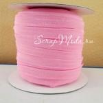 Резиночка, ширина 9 мм, розовая, цена за 1 метр, LE000472