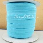 Резиночка, ширина 9 мм, голубая, цена за 1 метр, LE000473