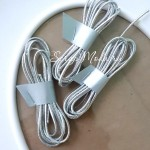 Резинка Серебро, круглая, диаметр 1,5 мм., цена за 1 метр, LE000536
