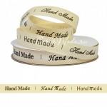 Лента хлопковая Hand Made, 15 мм., цена за 1 метр, LE000518