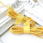 Резинка желтая, круглая, диаметр 2 мм., цена за 1 метр, DA000703