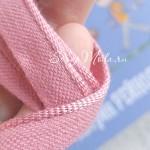 Каптал темно-розовый, 12 мм., цена за 1 метр. Чехия, LE000540