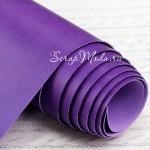 Переплётный кожзам матовый (экокожа), текстура:матовый, Фиолетовый, цена за отрез: 25х70 см, тонкий, толщина 1 мм. LI000002
