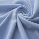 Замша двусторонняя, искусственная, цвет Небесный, размер 33х50см(+/- 1см), LI000086
