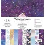 """Набор бумаги """"Космология"""" размер 30х30 см, 18 листов, Polkadot. LI000133"""
