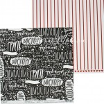 Бумага двусторонняя Яркие эмоции, Коллекция 16+, размер 30х30см, Polkadot. LI000136