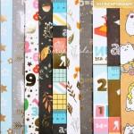 Набор бумаги односторонней с фольгированием Школьная пора, 10 листов, размер 30,5 х 30,5 см, 250 г/м, АртУзор, LI000159