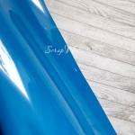 Термотрансферная пленка матовая Ярко-голубая, размер 25х25см., LI000244