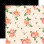 Лист бумаги двусторонний Sweet Fragrance, 30,5х30,5см., Webster's Pages, LI000253