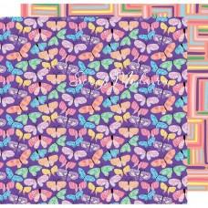 Лист бумаги двусторонний Amy Tan Sunshine & Good Times Double, 30,5х30,5см., American Crafts, LI000255