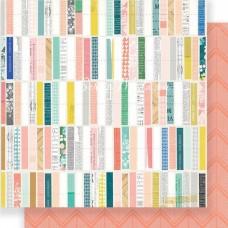 "Лист бумаги двусторонний ""Detalles"" Maggie Holmes Gather, 30,5х30,5см., плотная, Crate Paper, LI000256"
