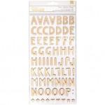 Стикеры Алфавит Creekside, размер 14х31 см, в наборе 2 листа, (133 шт). 1Canoe2. LI000268