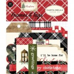 Высечки Christmas Frames&Tags, матовые. (33 шт.) Carta Bella. LI000296
