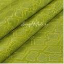 Кожзаменитель с тиснением под кожу змеи, цвет: Салатовый, отрез размером 25х70см., на тканной основе, толщина 0,7 мм., LI000370