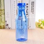 Фитнес бутылка прозрачная BPA FREE синяя, 550 мл., MR000010