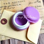 Шкатулочка mini, таблетница Макаронс, цвет лаванда, 42 мм., MR000094