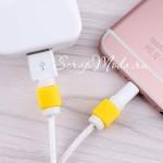 Защита от перелома зарядки на Iphone, жёлтая MR000191