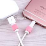 Защита от перелома зарядки на Iphone, розовая MR000193