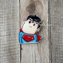 Значок акриловый Супермен, размер 30x45 мм., Kawaii, MR000272