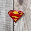 Значок акриловый Супермен лого, размер 30x40 мм., Kawaii, MR000275
