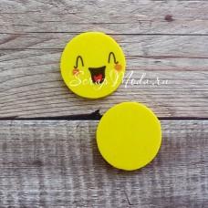 Ластик Смайл смех, размер 25 мм., толщина 5 мм., MR000284