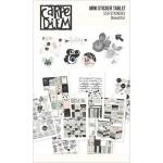 Набор стикеров Beautiful, 10 листов, 10x15 см., 559 наклеек, Simple Stories, NA000293