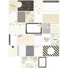 Карточки журналинга для проекта Project Life — Music.  Набор из 40 карточек. American Crafts, PL000002