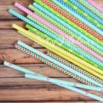 Бумажные трубочки MIX сюрприз, размер 19,5х0,55 см., 6 шт., RP000034