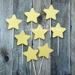 Шпажки Star Gold, звездочка 4 см., 8 шт., RP000115