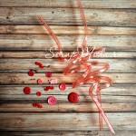 Коктейльные трубочки для детей, цвет розово-красный, размер 28,5 см., диаметр для стаканчика 5,5 см., RPL00018