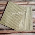Тиснение - Древесные полоски, Крафт бумага, размер 105х140 мм, плотность 200 гр., цена за 1 шт., RU000037