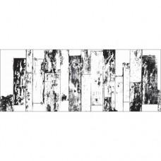 Штамп  Текстура Clear- Vintage Fence 367, 50х130 мм., Kaiser Craft