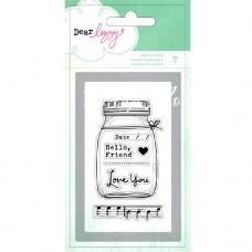 Штамп силиконовый Dear Lizzy,  7 шт., American Craft, SH000412