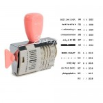 Роллер Штамп Dear Lizzy, American Crafts. Розовая ручка, SH000416