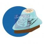 Меловая Штемпельная подушечка Inks - Chalk Fluid Edger, цвет Blue Jay, 45x24 мм., Prima Marketing. SH000487