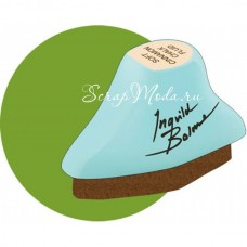 Меловая Штемпельная подушечка Inks - Chalk Fluid Edger, цвет Moss Lawn, 45x24 мм., Prima Marketing. SH000494
