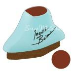 Меловая Штемпельная подушечка Inks - Chalk Fluid Edger, цвет Branch Bark, 45x24 мм., Prima Marketing. SH000503