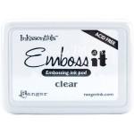 Чернильная подушка для эмбоссинга Ranger Inkssentials Emboss It Ink Pad - Clear, Ranger, SH000506
