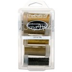 Набор пудр для эмбоссинга - Embossing Powder Kit, Glamour. В наборе 5 оттенков. Объем 29 гр., Stampendous, SH000508