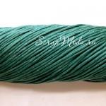 Вощеный шнур Елочная зелень, 1 мм., цена за 1 метр, SN000138