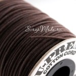 Вощеный шнур Шоколад, 1 мм., цена за 1 метр, SN000139